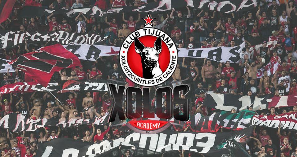 XOLOS ACADEMY FC NOW IN RIALTO, CALIF.
