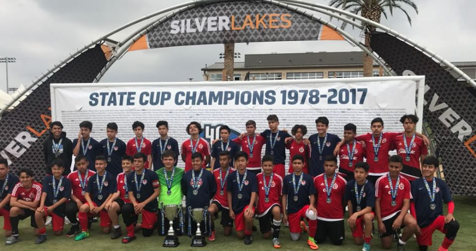 GREAT RUN AT STATE CUP