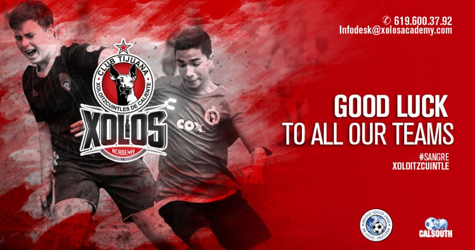 XOLOS ACADEMY TEAMS BEGIN 2018 LEAGUE SEASON